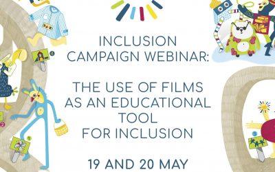 La semaine de l'Inclusion c'est en ligne!