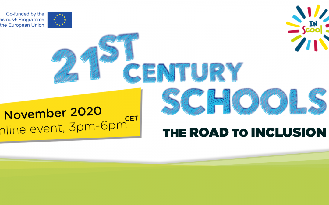 SAVE THE DATE! 21st Century Schools: The road to inclusion – 18 November